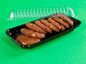 Упаковка для пирожного с крышкой