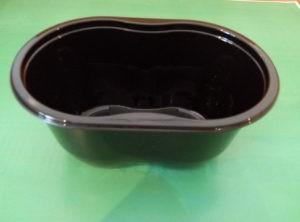 Контейнер СпК-1409-500 мл черный с крышкой