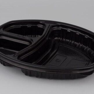 Контейнер Ланч-бокс СпК-257-3 черный с крышкой