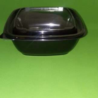 Контейнер СпК-1919 1000 мл черное дно, прозрачная крышка