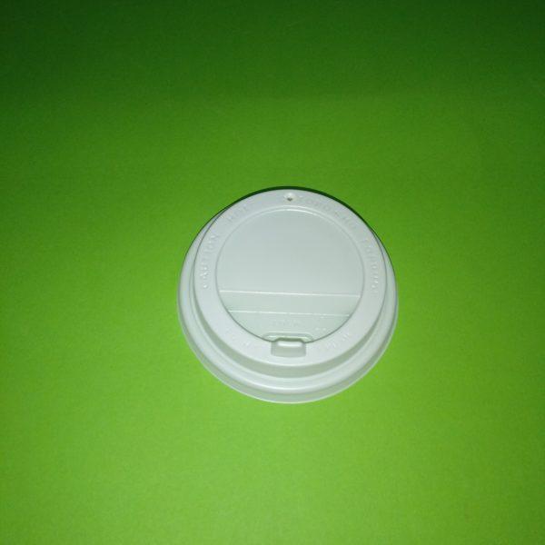 Крышка для стакана 80 мм белая